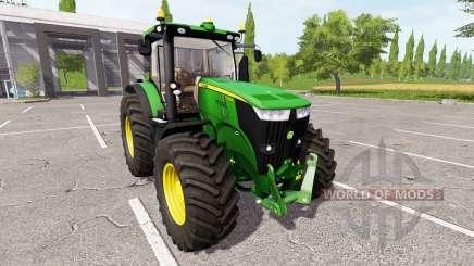 John Deere 7280R v1.1.0.1 для Farming Simulator 2017