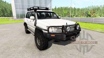Toyota Land Cruiser 100 v0.5.3 для BeamNG Drive