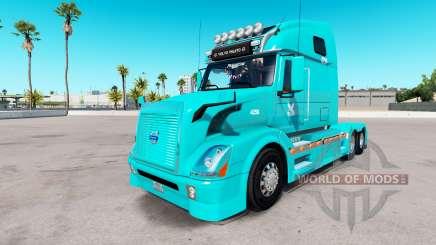 Скин TUM на тягач Volvo VNL 670 для American Truck Simulator