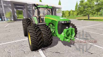 John Deere 8520 для Farming Simulator 2017
