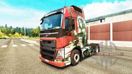 Скин Blade на тягач Volvo для Euro Truck Simulator 2