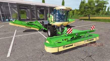 Krone BiG M GTX 750 v1.4 для Farming Simulator 2017