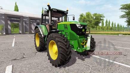 John Deere 6155M v2.0 для Farming Simulator 2017