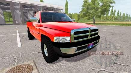 Dodge Ram 3500 1994 farm для Farming Simulator 2017