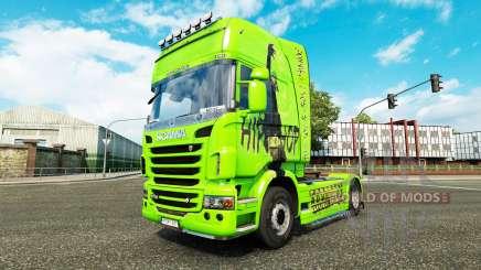 Скин Hip-Hop на тягач Scania для Euro Truck Simulator 2