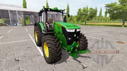 John Deere 7280R v1.3 для Farming Simulator 2017