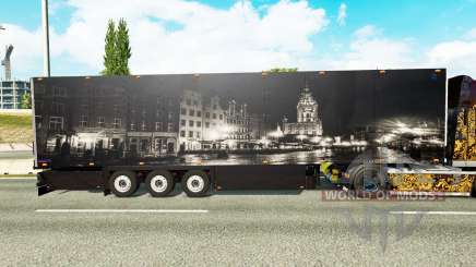 Полуприцеп Schmitz Cargobull City для Euro Truck Simulator 2