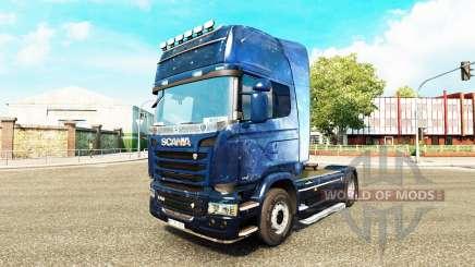 Скин Kosmos на тягач Scania для Euro Truck Simulator 2