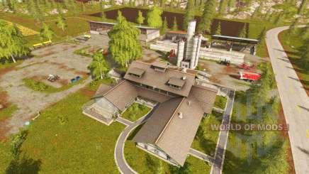 Goldcrest Valley v1.1 для Farming Simulator 2017
