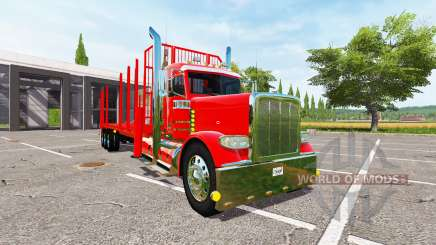 Peterbilt 388 forest для Farming Simulator 2017