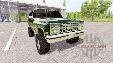 Chevrolet K5 Blazer 1991 для Farming Simulator 2017