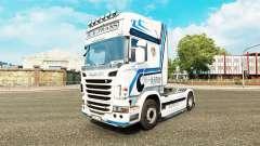 Скин Hovotrans на тягач Scania