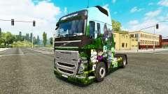 Скин Minecraft на тягач Volvo