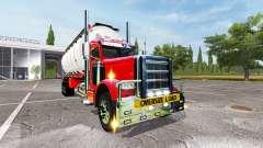 Peterbilt 388 tanker