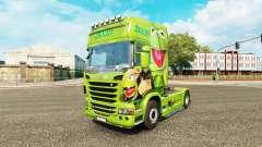 Скин Kermit the Frog на тягач Scania