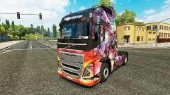 Скин Dragon Princess на тягач Volvo
