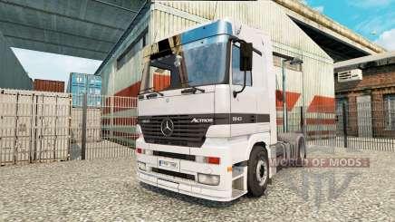 Mercedes-Benz Actros 1843 MP1 для Euro Truck Simulator 2