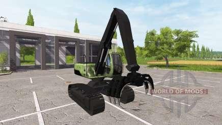 Стреловой грейферный экскаватор-погрузчик для Farming Simulator 2017
