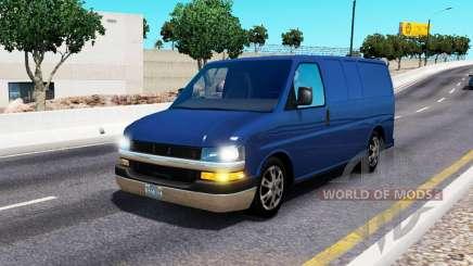 Chevrolet Express для трафика для American Truck Simulator