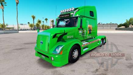 Скин Boyd Transportation на тягач Volvo VNL 670 для American Truck Simulator