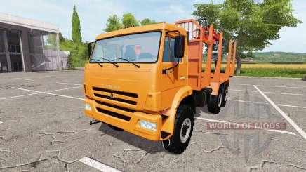 КАМАЗ-43118 timber для Farming Simulator 2017