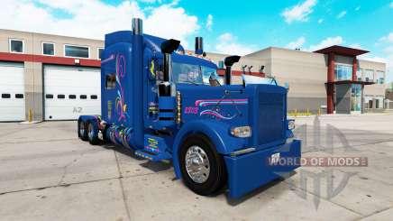 Скин Excellence на тягач Peterbilt 389 для American Truck Simulator