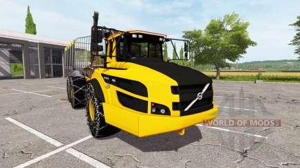 Volvo A40G forwarder для Farming Simulator 2017