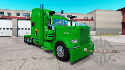 Скин Boyd Transportation на тягач Peterbilt 389 для American Truck Simulator
