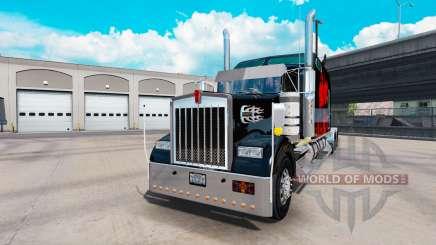 Kenworth W900B Long v1.5 для American Truck Simulator
