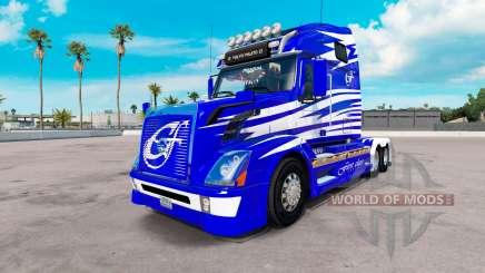 Скин First Class на тягач Volvo VNL 670 для American Truck Simulator