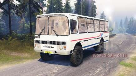 ПАЗ-4334 для Spin Tires
