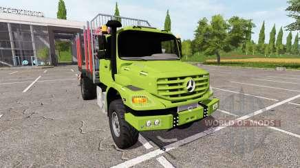 Mercedes-Benz Zetros timber для Farming Simulator 2017