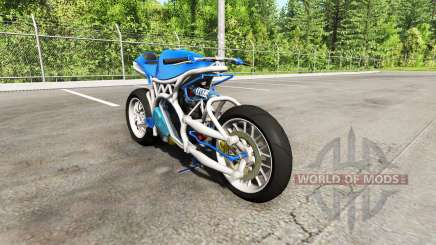Спортивный мотоцикл v0.5 для BeamNG Drive