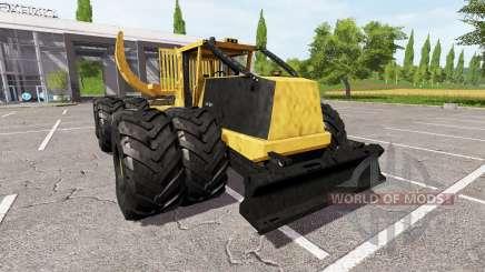 Tigercat 635E clambunk для Farming Simulator 2017