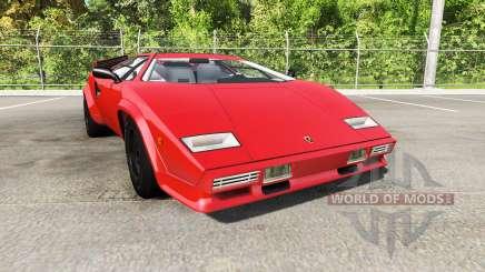 Lamborghini Countach v2.0 для BeamNG Drive