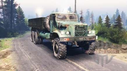 КрАЗ 257 v3.0 для Spin Tires
