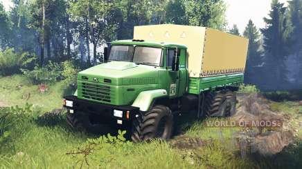 КрАЗ 63221 v5.0 для Spin Tires