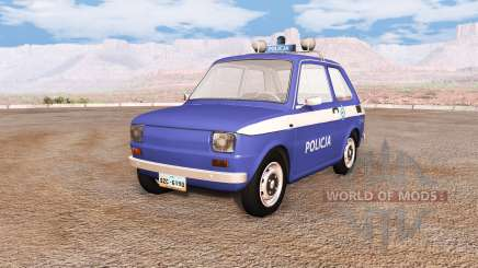 Fiat 126p v6.0 для BeamNG Drive
