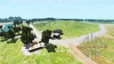 Hillside highway v1.2 для BeamNG Drive