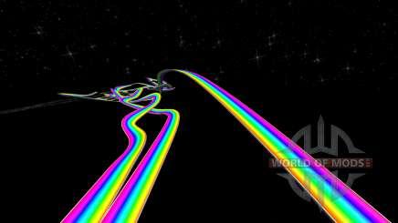 Радужная дорога для BeamNG Drive