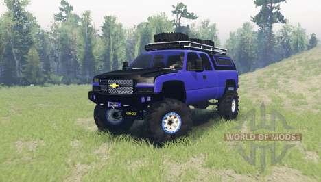 Chevrolet Silverado 2006 для Spin Tires