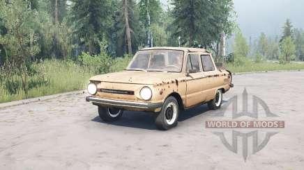 ЗАЗ 968М для MudRunner