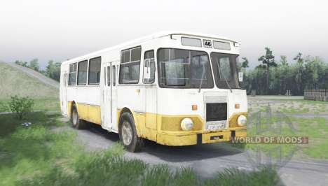ЛиАЗ 677 для Spin Tires