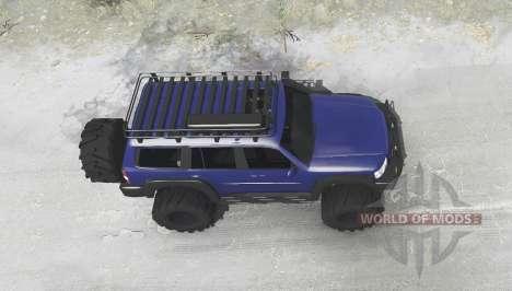 Nissan Patrol GU (Y61) 2004 для Spintires MudRunner