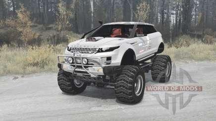 Land Rover Range Rover LRX 2008 custom для MudRunner