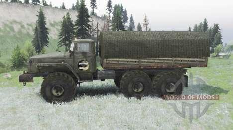 Урал 4320 custom off-road для Spin Tires