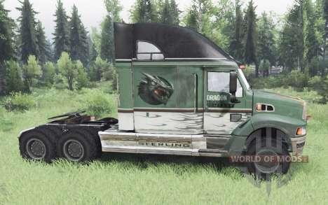 Sterling A9500 Dragon v1.1 для Spin Tires