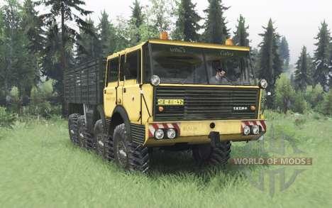 Tatra T813 TP 8x8 1967 v1.3 для Spin Tires