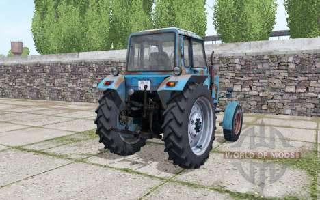 МТЗ 80 Беларус с анимацией частей для Farming Simulator 2017