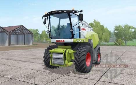 Claas Jaguar 840 with Orbis 750 для Farming Simulator 2017